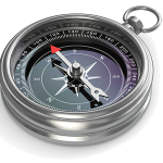 bigstock-silver-compass-on-white-isolat-59847587